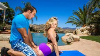 Mia Malkova - Outdoor Stretching