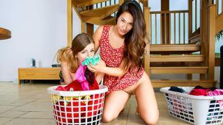 Eva Lovia, Stella Cox - Eva's Dirty Laundry