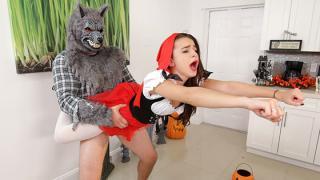 Kharlie Stone - Brunette Spinner Fucks on Halloween