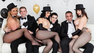 Kristina Rose, Phoenix Marie, Chanel Preston - Brazzers New Years Eve Party