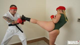 AJ Applegate - Video Game Cosplay Fuck
