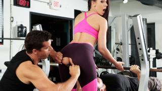 Rachel Starr - Gym And Pussy Juice