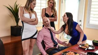 Angela White, Kagney Linn Karter, Phoenix Marie - Dinner For Cheats