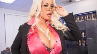 Bridgette B - Big Tit MILF Gets A Bonus For All Her Hard Work. A Big Black Cock