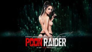 Kimmy Granger, Rina Ellis, Tina Kay - Poon Raider: A DP XXX Parody