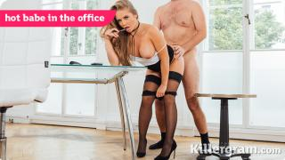 Alessandra Jane - Hot Babe In The Office
