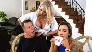Katie Morgan  - Massaged By Her Mother