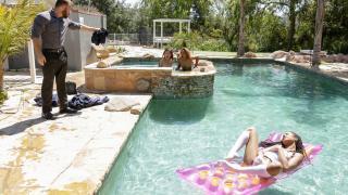 Kira Noir - Punishing The Pool Hopper