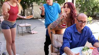 Monique Alexander Adria Rae - Awesome 4th Of July Threesome