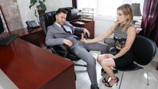 Kristen Scott - Sexy Secretary Blackmailed!