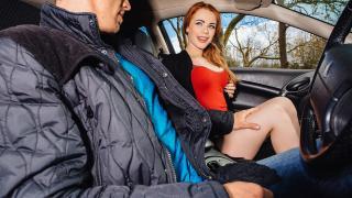 Ella Hughes - British Redhead Sucks Cock