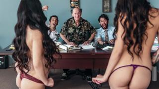Brenna Sparks, Jade Kush - The Gang Makes a Porno: A DP XXX Parody Episode 2