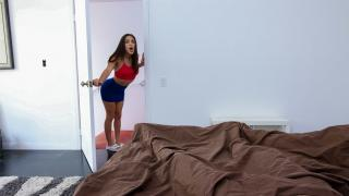 Abella Danger - Knocking On Stepbros Morning Wood