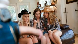 Ashley Lane, Gracie May Green, Layla Love - Hoe Down