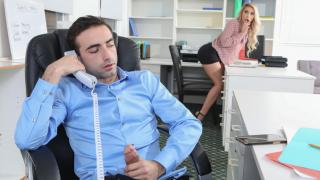 Carmen Caliente - Screwing Around In The Office Has Its Perks