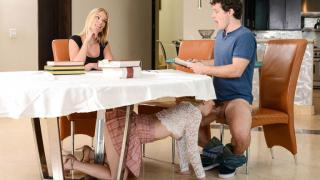 Abby Adams, Rachael Cavalli - My Stepmom Ruined The Study Session