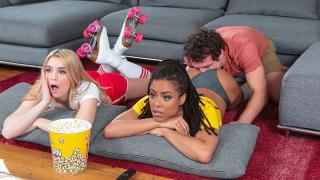 Anastasia Knight, Kira Noir - Dick Flicks And Chill