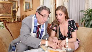 Britney Amber - Rabbi Converts Britney With That Hard Cock