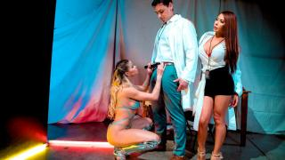Jessa Rhodes, Madison Ivy - They Come In Peace Scene 4