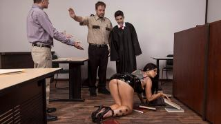Romi Rain - Judge Jordi: Anal About Alimony