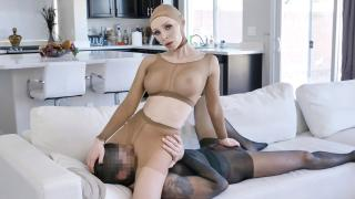 Natasha James - Pantyhose Pussy Play