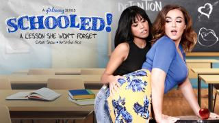 Natasha Nice, Ember Snow - SCHOOLED!: A Lesson She Won't Forget