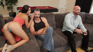 Emily Willis - Emily Fucks Step Dad And Step Uncle