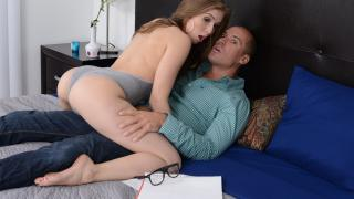 Lena Paul - Studying With A Slut
