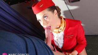 Elena Koshka - A Caring Stewardess