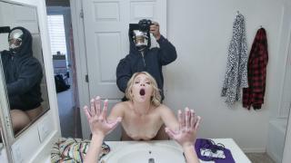 Katie Kush - Halloween Stepsister Hammering