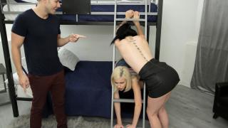 Kiara Cole, Rosalyn Sphinx - Two Step Sisters Get Stuck