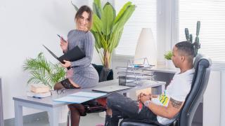 Lana Roy - Russian Teacher Enjoys Interracial Fuck