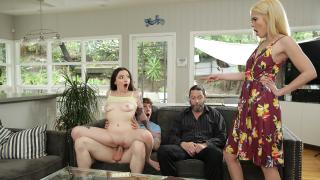 Leia Rae, Tiffany Fox - Family Swap Wife