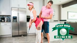 Chloe Temple - Step Bro Gets A Hole In One