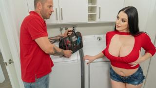 Angela White - The Dryer Wont Get Me Off!