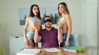 Hime Marie, Kylie Rocket - My Step Sisters Nipples