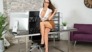 Abigail Mac - Banging The Boss On Her Anniversary