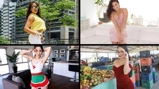 Sarah Lace, Hazel Heart, Destiny Cruz, Thalia Diaz - Spicy Babes