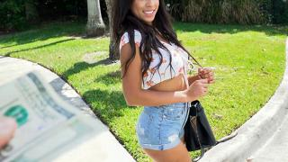 Autumn Falls - Barely Legal Hottie Pounded On The Bus