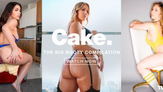 Candice Dare, Valentina Nappi, Lena Paul, Angela White, Bella Roland, Dana DeArmond - CAKE – The Big Booty Compilation