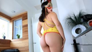 Valentina Nappi - Masked Woman Fucks Her Friend's Man