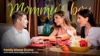 Silvia Saige, Sofie Marie - Family Dinner Drama